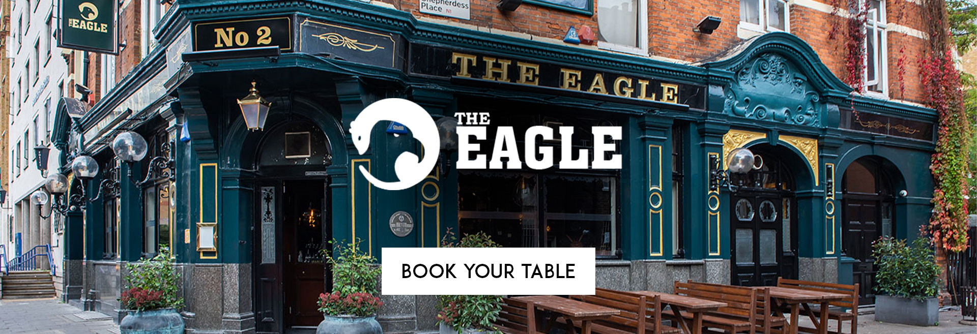 Book Your Table The Eagle